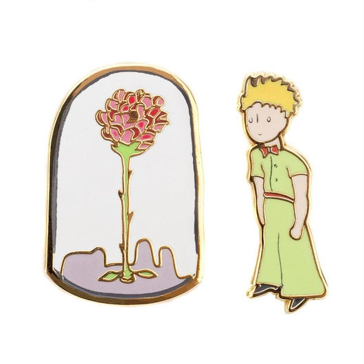 Out of Print The Little Prince Pins Set / アウトオブプリント 星の王子様 ピンズ 2個セット