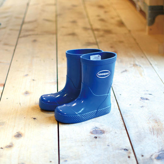 HAVAIANAS KIDS RAIN BOOTS BLUE / ハワイアナス キッズ レインブーツ 長靴 ブルー