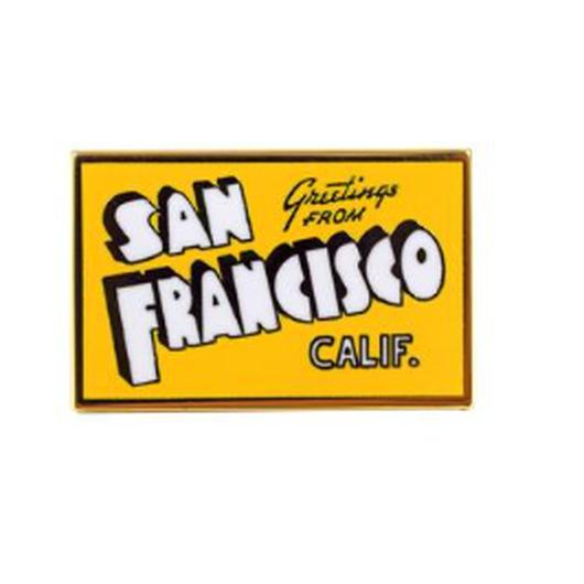 VALLEY CRUISE ENAMEL PIN SAN FRANCISCO/バレークルーズ エナメルピン サンフランシスコ