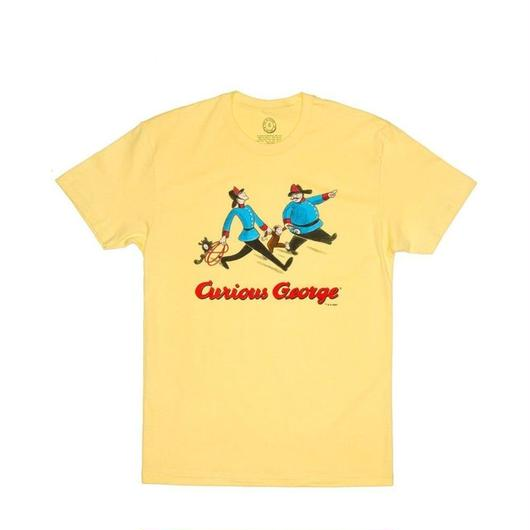 Out of Print Curious George T-Shirts Yellow / アウトオブプリント おさるのジョージ Tシャツ イエロー