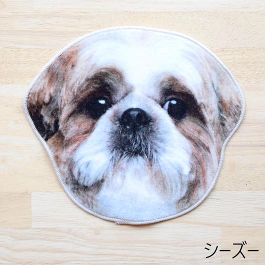 REALISTIC MOTIF TOWEL DOG/リアルモチーフハンドタオル シーズー