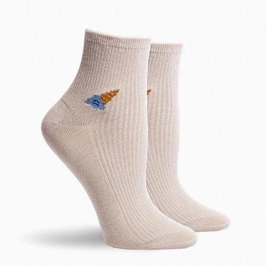 RICHER POORER WOMEN'S ANKLE SOCKS ''CONEY'' OATMEAL / リッチャープアラー レディース アンクルソックス 靴下 オートミール
