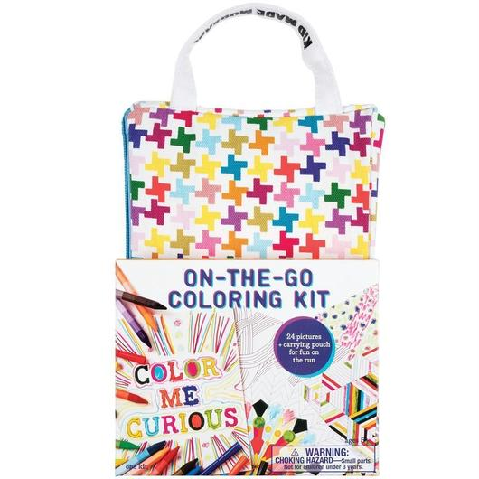 KID MADE MODERN ON-THE-GO COLORING KIT / キッドメイドモダン カラーリングキット お絵かきセット