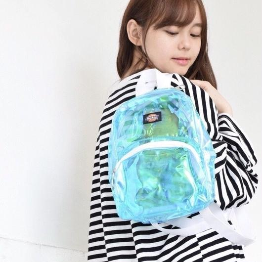 DICKIES MINI CLEAR BACKPACK BLUE / ディッキーズ ミニ クリア バックパック  ブルー