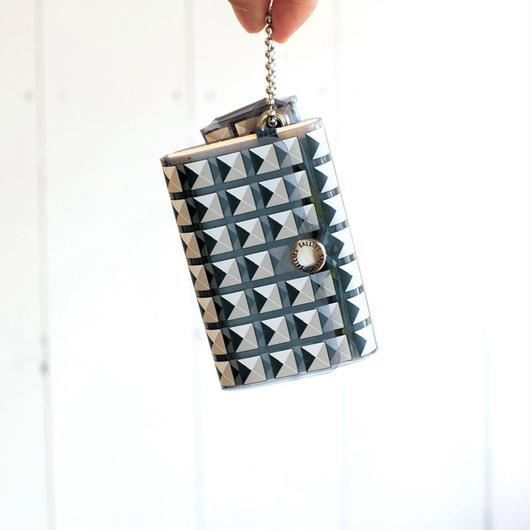 SALLIES MINIMAL WALLET ''POCKET PAL'' STUDS / サリーズ ミニマルウォレット 財布 コインケース スタッズ
