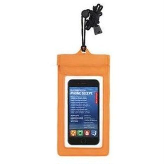 KIKKERLAND WATERPLOOF PHONE SLEEVE ORANGE / キッカーランド ウォータープルーフ フォンスリーブ 防水  オレンジ