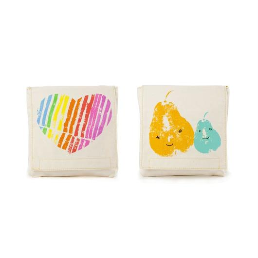 FLUF SNUCK PACK MAMA LOVE (Set of 2) / フラフ  スナックパック ポーチ  2個セット