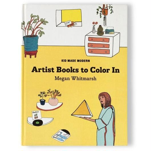 KID MADE MODERN ARTIST BOOKS TO COLOR IN ''MEGAN WHITMARSH''  / キッドメイドモダン カラーリングブック 塗り絵