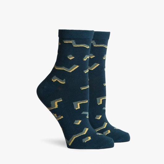 RICHER POORER WOMEN'S ANKLE SOCKS ''KASSI'' TEAL / リッチャープアラー レディース アンクルソックス 靴下