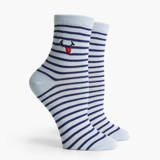 RICHER POORER WOMEN'S ANKLE SOCKS ''TASTY'' BLUE MULTI / リッチャープアラー レディース アンクルソックス 靴下 ブルーマルチ
