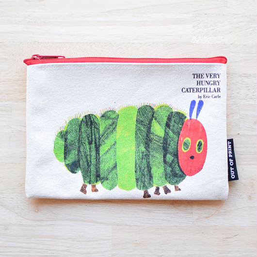 OUT OF PRINT THE VERY HUNGRY CATERPILLAR POUCH
