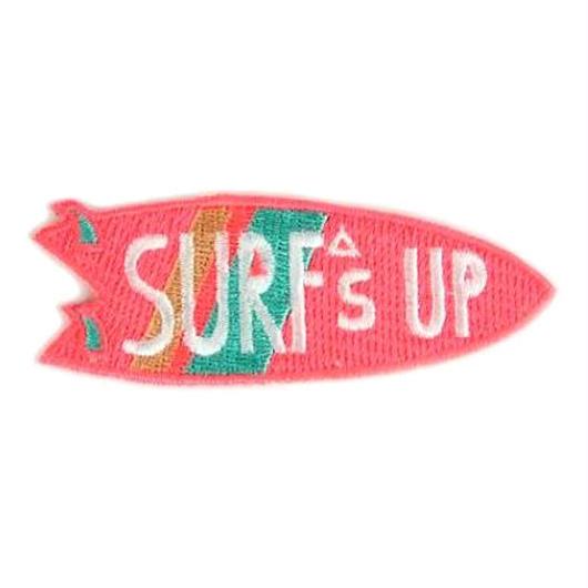 MOKUYOBI IRON ON PATCH ''SURFS UP'' / モクヨウビ アイロンパッチ ワッペン