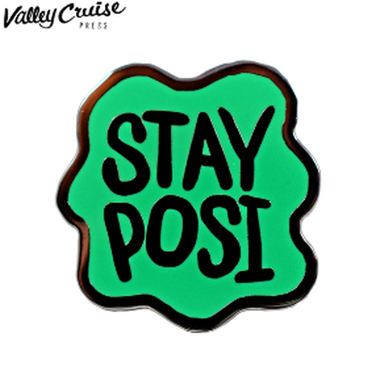 VALLEY CRUISE ENAMEL PIN STAY POSI/バレークルーズ エナメルピン ステイポジ