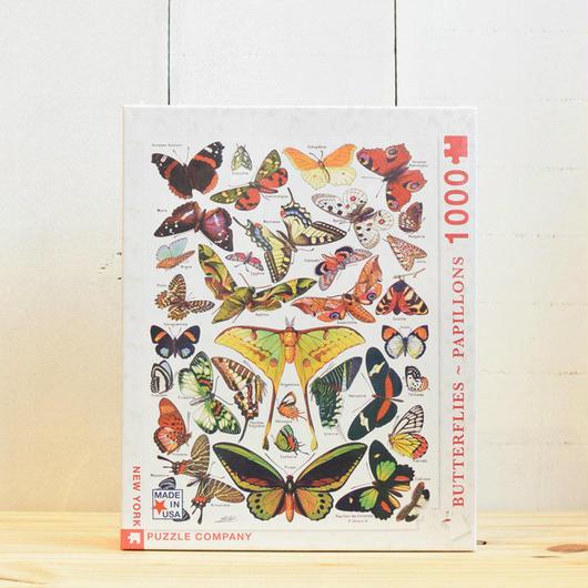 "New York Puzzle Company Nature Series ""Birds""1000pc/ニューヨークパズルカンパニー ネイチャーシリーズ バタフライ 1000ピース"