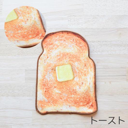 REALISTIC MOTIF TOWEL TOAST / リアルモチーフハンドタオル トースト