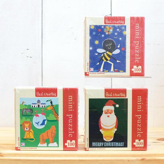 """New York Puzzle Company Mini Series """"100pc/ニューヨークパズルカンパニー ミニシリーズ ジグソーパズル 100ピース"""