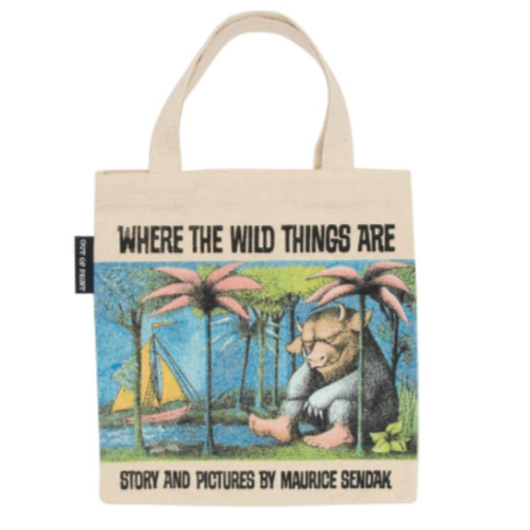 Out of Print Where the Wild Things Are Kids Tote Bag / アウトオブプリント かいじゅうたちのいるところ キッズ トートバッグ