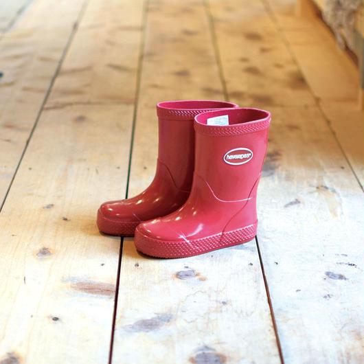 HAVAIANAS KIDS RAIN BOOTS RED / ハワイアナス キッズ レインブーツ 長靴 レッド