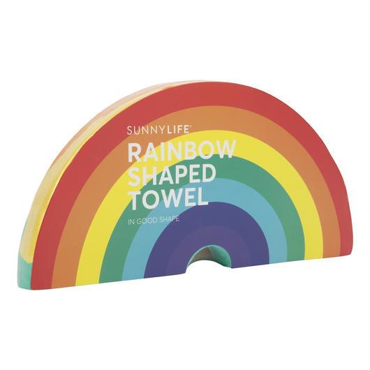 SUNNYLIFE Shaped Towel Rainbow / サニーライフ ビーチタオル レインボー