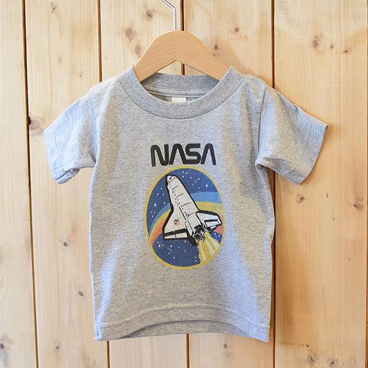NASA SHUTTLE TODDLER T-SHIRT GREY