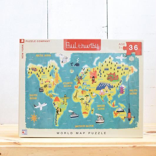 "New York Puzzle Company Kids ""World Mups""36pc/ニューヨークパズルカンパニー キッズ ジグソーパズル 36ピース"