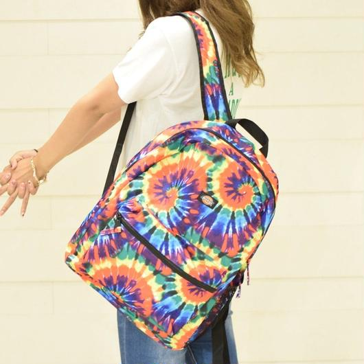 DICKIES STUDENT BACKPACK TIEDYE / ディッキーズ ステューデント バックパック  タイダイ