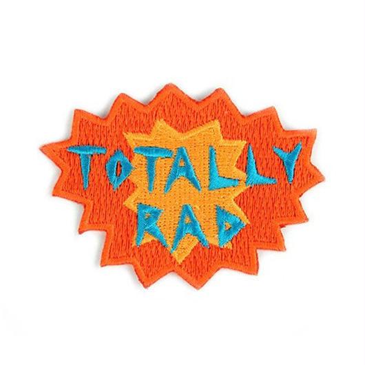 MOKUYOBI IRON ON PATCH ''TOTALLY RAD'' / モクヨウビ アイロンパッチ ワッペン