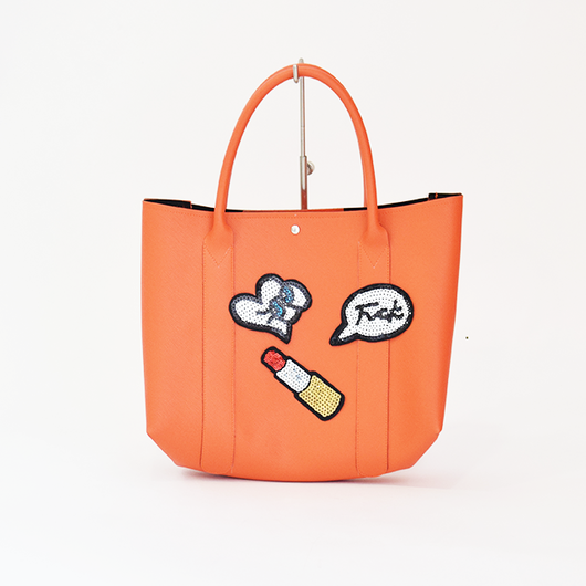 372961005 Brooklyn Tote Bag Orange