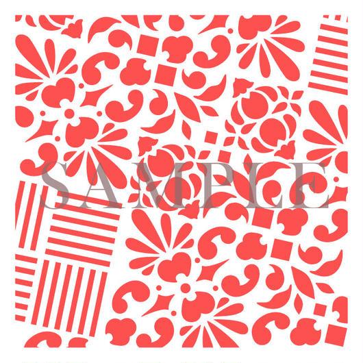 【図案12×12】#002花石畳