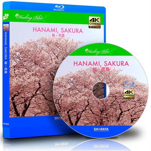 花見ができる4Kカメラ映像【Healing Blue L ヒーリングブルーL】 桜・花見〈動画約40分〉