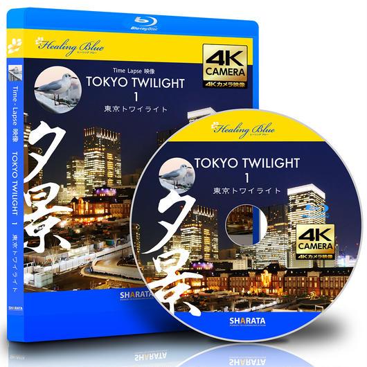 タイムラプス4Kカメラ映像【HealingBlueヒーリングブルー】東京トワイライト 1 Tokyo Twilight 1 〈動画約54分, approx54min.〉