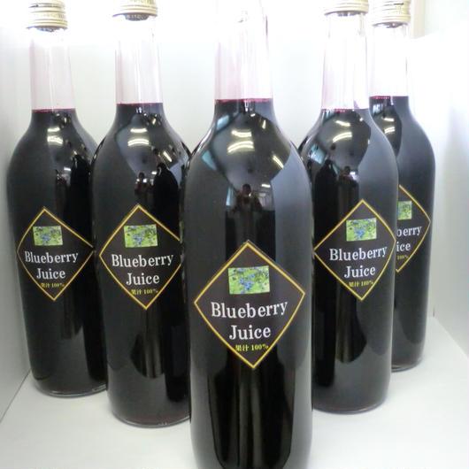 Blueberry Juice 果汁100%ジュース
