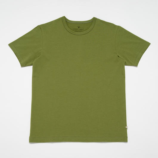 STELLAR CONFLICT天竺 S/S T-SHIRT SPRING GREEN
