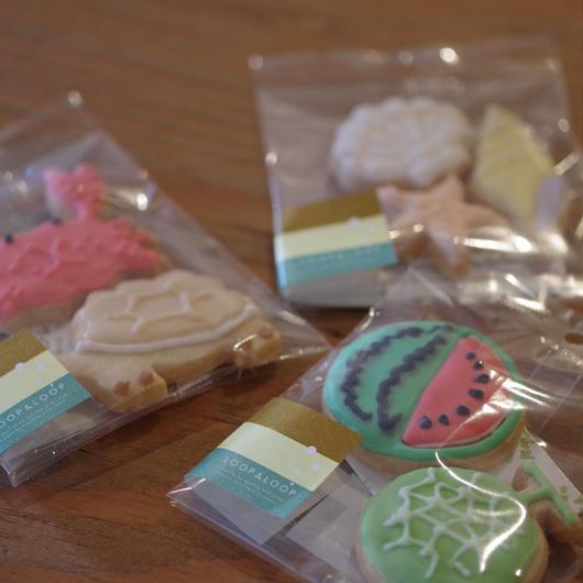 季節のアイシングクッキーセット
