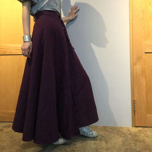 long skirt  =purple=