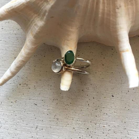 Ring = green S =