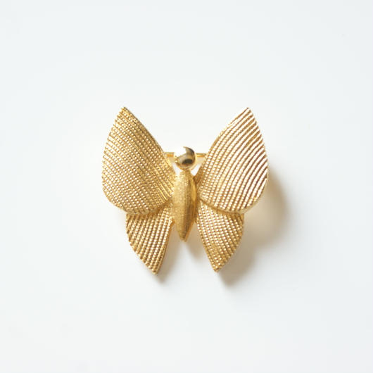 TRIFARIクラウントリファリ 蝶バタフライ ミニブローチ / ヴィンテージ・コスチュームジュエリー