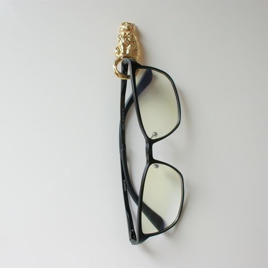 AVONエイボン 猫 キャット ラインストーン リボン 眼鏡ホルダー ブローチ /ヴィンテージ・コスチュームジュエリー