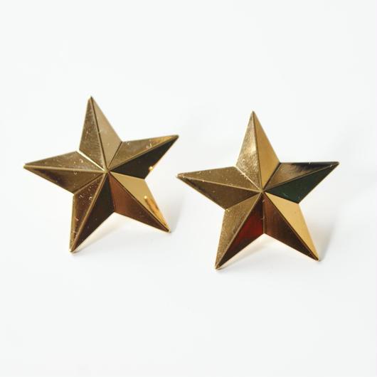 Special price【スペシャル プライス】星 スターゴールド ピアス / ヴィンテージアクセサリー
