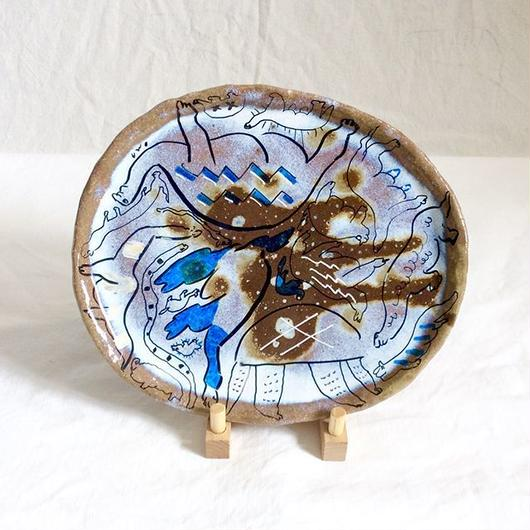 OMA pottery  絵皿  cozmic dust | 宇宙塵