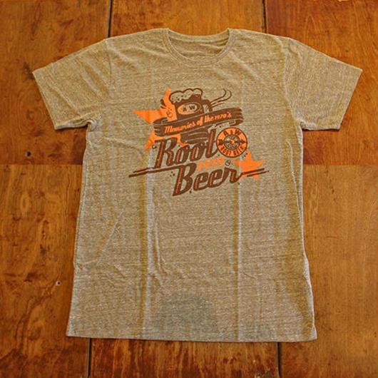 A&WヴィンテージTシャツ:グレー