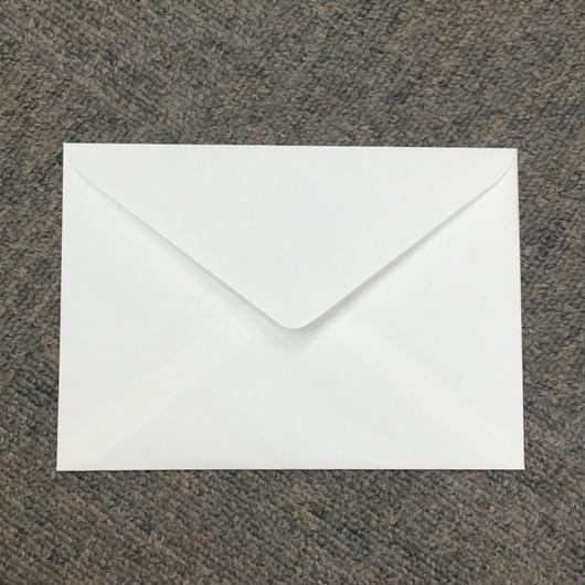 【100枚セット】封筒洋形2号枠なし ボスWユキ【ダイヤ貼り】宅配便配送