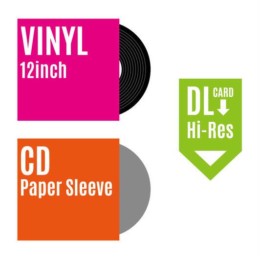 【2018.8.8 Release】大橋歩夕「1234」12インチ・アナログ盤  +CD  バンドルセット(税・送料込)