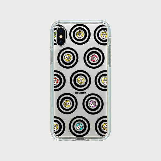 【iPhoneX】ぐるぐるミラーケース