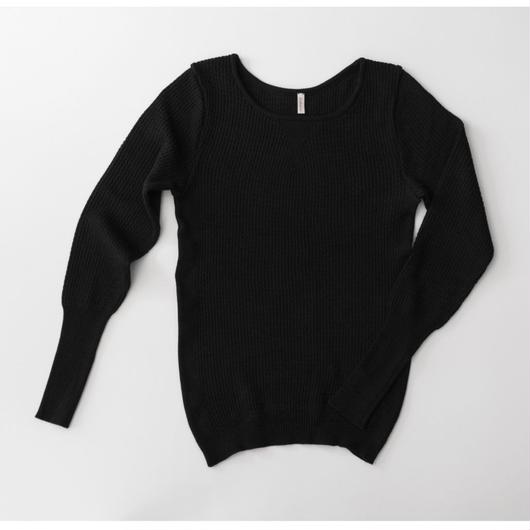 SUVIN cotton long sleeve knit