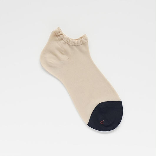 tiptoe colored short socks
