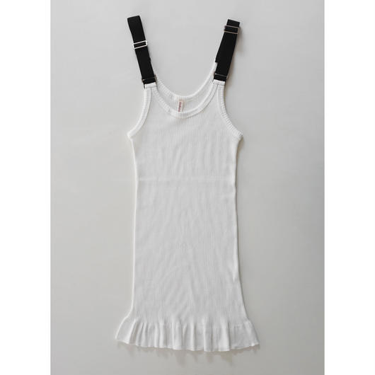 giza cotton fine ribbed camisole