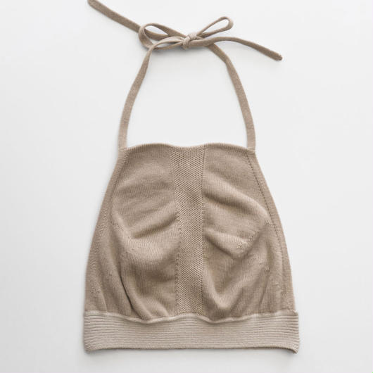 whole garment halter neck bra-top