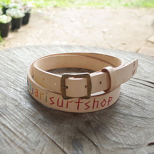 Bajari Surf Shop 刺繍入りベルト