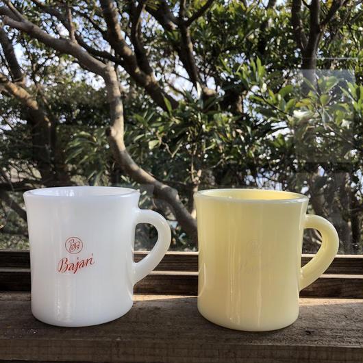 Bajariミルクガラスマグ